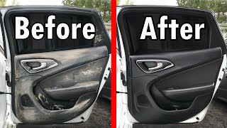 How to Super Clean your Interior (Dashboard, Center Console, Door Panels & Glass)