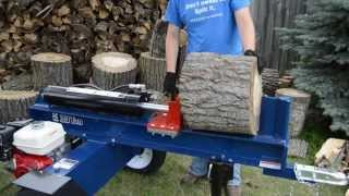 Iron & Oak 30 Ton Horizontal Log Splitter
