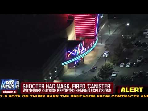Shooting Rampage at Colorado Cinema During Dark Knight Rises Screening