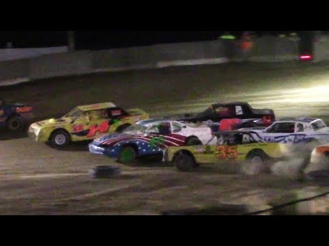 Pure Stock Feature | Old Bradford Speedway | 8-13-17