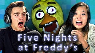 FIVE NIGHTS AT FREDDY'S (Teens React: Gaming) thumbnail