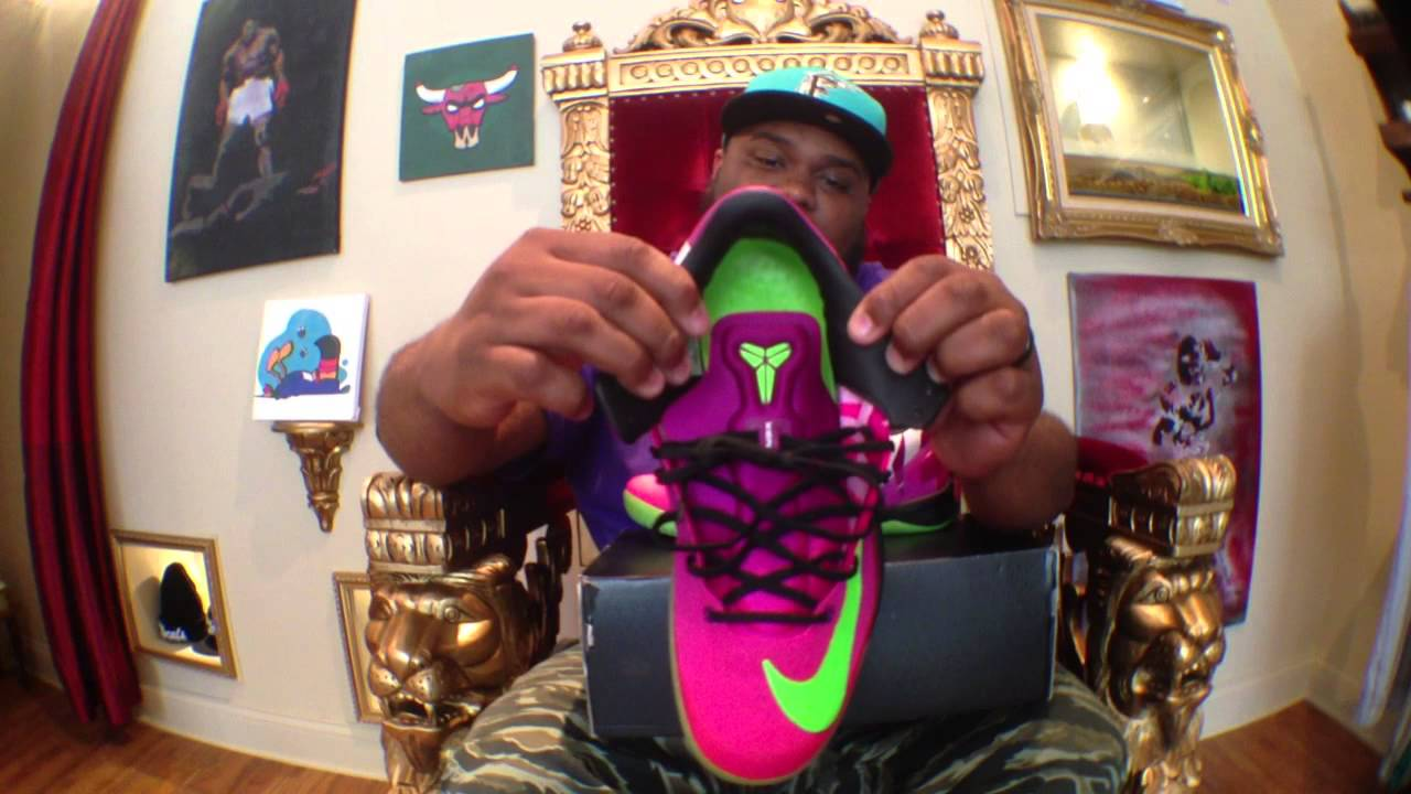 b54a274abeda Nike Kobe 8 System MC Mambacurial Review - YouTube