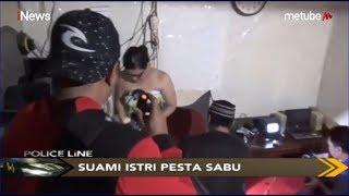 Asyik Pesta Sabu dalam Kamar Kos, Pasutri di Makassar Digerebek Polisi - Police Line 10/06