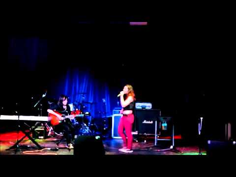 """Chelsi ♡ Anne & Brianna at The Orpheum ~ Feb. 2013 """"Price Tag & Time of Your Life"""" (covers)"""