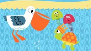 Развивающее видео для самых маленьких. МОРСКИЕ ПРИКЛЮЧЕНИЯ. Подводный мир с Tiny Love