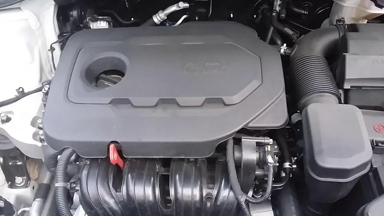 2018 Hyundai Santa Fe 2 4l Gdi Engine Idling Noises Youtube