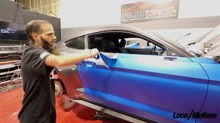 I Learn How T๐ Vinyl Wrap A Car
