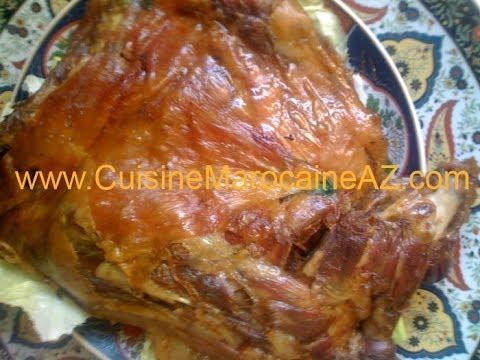 La cuisine marocaine de A à Z - المطبخ المغربي من أ إلى ي : Méchoui - المشوي
