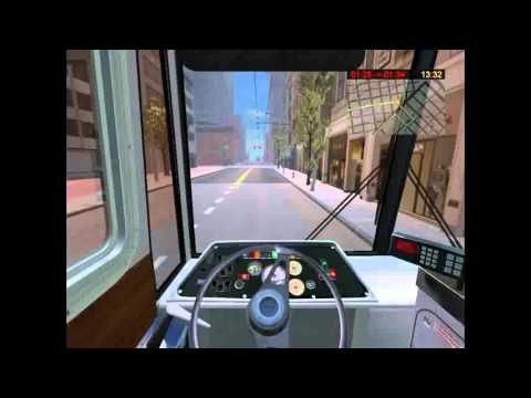 Bus & Cable-car Simulator: Full Trolleybus Route (Line 30)