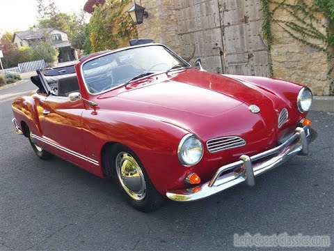 1964 vw karmann ghia convertible youtube. Black Bedroom Furniture Sets. Home Design Ideas