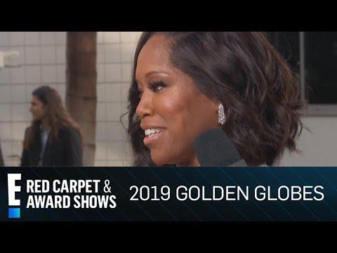 Regina King's Son Calls Her 'Super Mom' at Golden Globes | E! Red Carpet & Award Shows