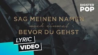 LUPID - Sag meinen Namen (Akustik Version) [Special Fan-Edit Lyric Video]