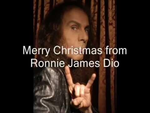 Ronnie James DIO God rest ye merry, gentlemen