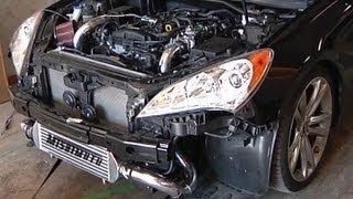 Greddy X-Gen Street Hyundai Genesis Coupe Videos