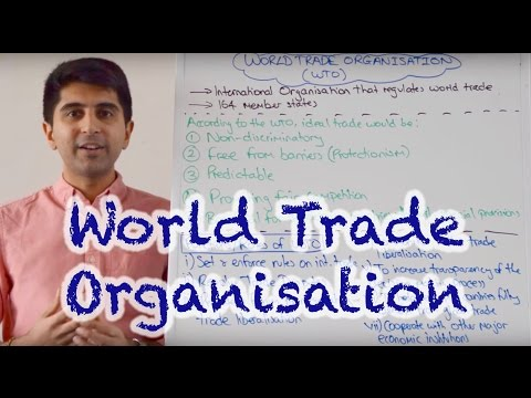 World Trade Organisation (WTO) - Aims and Roles