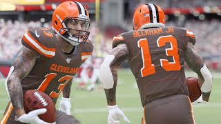 Download MADDEN 20 GAMEPLAY! ODELL BECKHAM GOES OFF WITH THE BROWNS! Mp3 and Videos