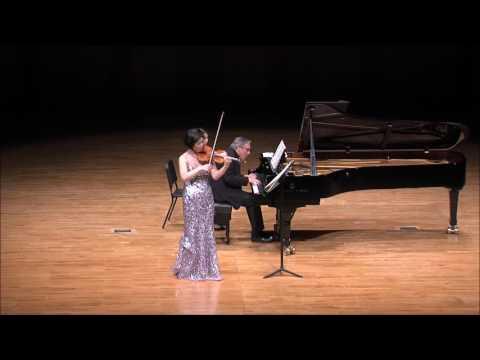 """Ju-Young Baek & Ralf Gothoni Duo Concert - Beethoven Violin Sonata No.9, Op.47 """"Kreutzer"""" (Mov.2)"""