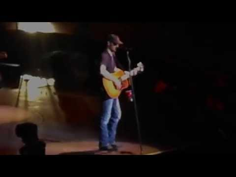 Eric Church Roller Coaster Ride - Madison Square Garden  New York, NY 10/17/14