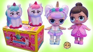 Color Change Squishies ! Kawaii Squeezie Unicorns Surprise Blind Bags
