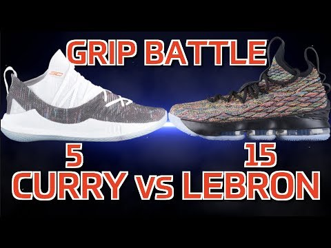 e91af318115 Curry 5 vs LeBron 15 Grip Battle! NBA Finals Matchup! - YouTube