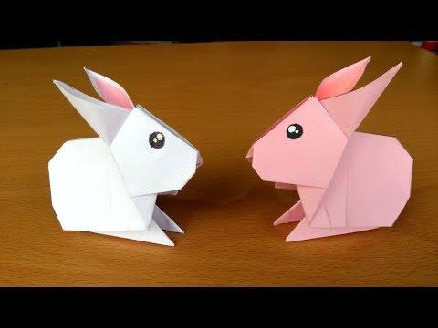 Origami Conejo Como Hacer Un Conejo De Papel Facil Y Rapido Youtube