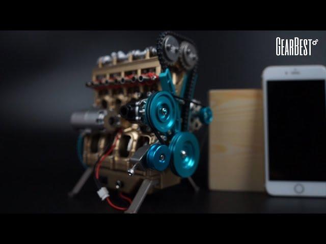 Digitaler Entfernungsmesser Rätsel : Tuxinggongjiangshi aluminiumlegierung vier zylinder motor 357stk
