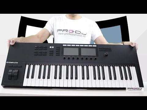 NATIVE INSTRUMENTS KOMPLETE KONTROL S49 & S61 MK2 | Unboxing & Review (Español)