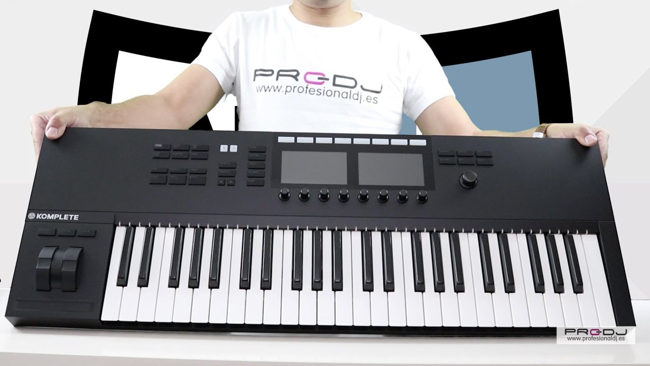 native instruments komplete kontrol s49 s61 mk2 unboxing review espa ol youtube. Black Bedroom Furniture Sets. Home Design Ideas