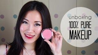 OpenBox | 100% Pure Cosmetics + Swatches