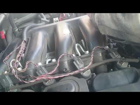 bmw x3 e833 intake manifold and egr valve cleaning