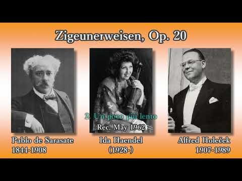Sarasate: Zigeunerweisen, Haendel & Holeček (1962) サラサーテ ツィゴイネルワイゼン ヘンデル&ホレチェク