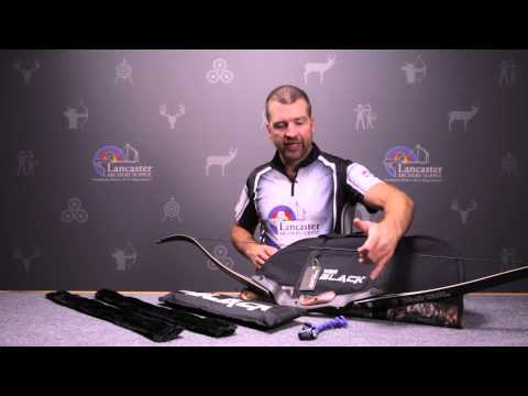 Win & Win Black Wolf Recurve Bow Review At LancasterArchery.com