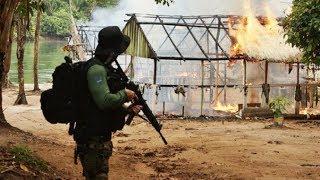 Brasiliens Elite Einheit unterwegs im Amazonas Regenwald