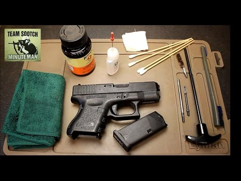 Glock's Official Recommended Cleaning & Inspection