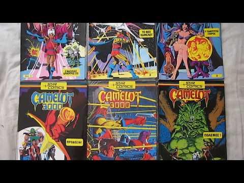 Camelot 3000 Greek Comics