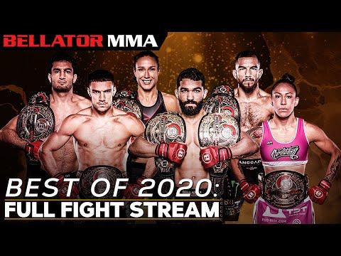 BEST OF 2020: FULL FIGHT STREAM - 🥊 New Year's Celebration 🎉 | Bellator MMA