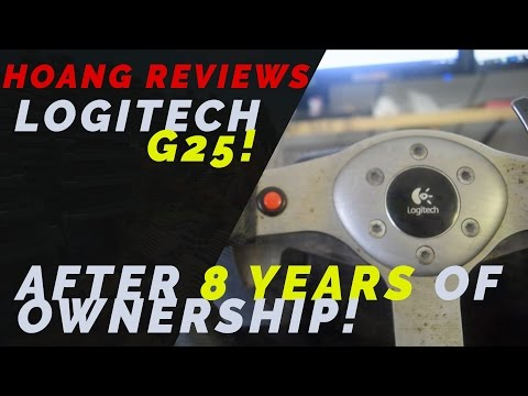 Logitech G25 Review After 8 Years Of Ownership!