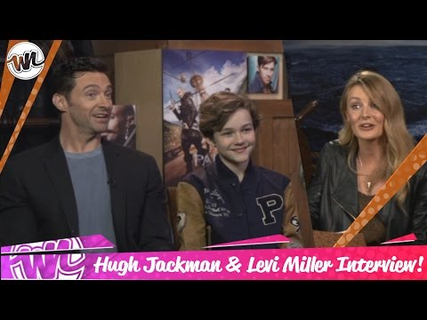 Hugh Jackman and Levi Miller EXTENDED interview