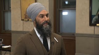 NDP Leader discusses Speech From the Throne