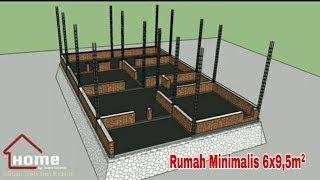 Desain Rumah Minimalis Ukuran 6x9 5m Youtube