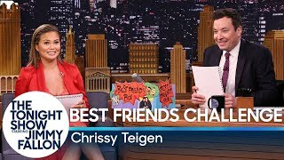 Best Friends Challenge with Chrissy Teigen