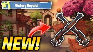 "*NEW* HUNTING RIFLE GAMEPLAY! NEW LOCATION ""LUCKY LANDING""! (Fortnite Battle Royale Livestream)"