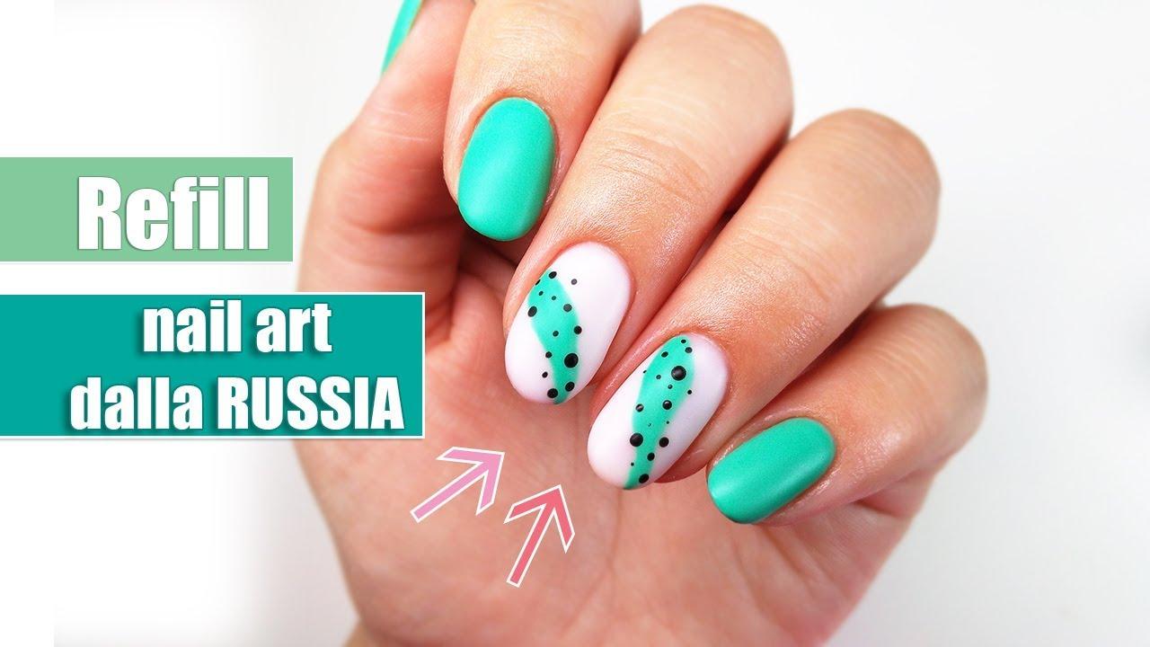 Refill alle mie unghie con nail art dalla Russia ???? | desmynails