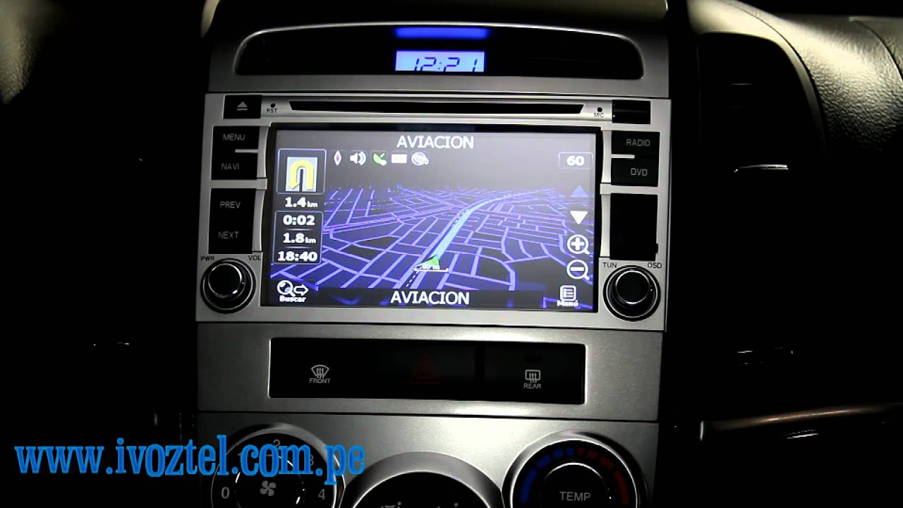 Autoradio Hyundai Santa Fe 2011 Dvd Gps Navegador