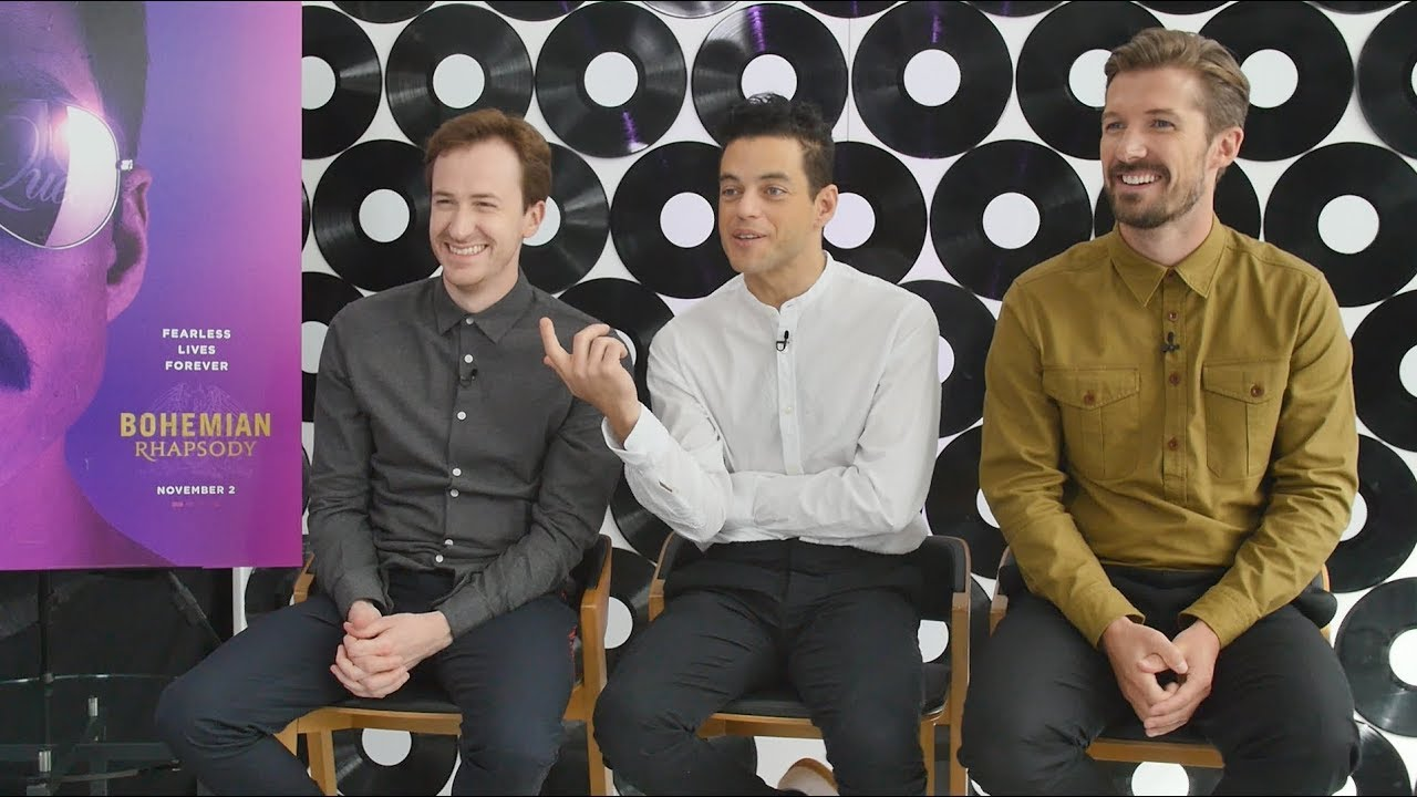 Interview What Queen informed the BOHEMIAN RHAPSODY cast about their lives  YouTube
