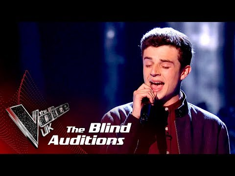 Ross Anderson Performs 'Drag Me Down': Blind Auditions  The Voice UK 2018