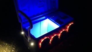 Custom Ice Chest Cooler Stereo - Kramerkoolers.com