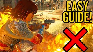 IX EASTER EGG: HOW TO TAKE NO FIRE DAMAGE GUIDE - FIRE AND TRAP IMMUNITY! (Black Ops 4 Zombies)