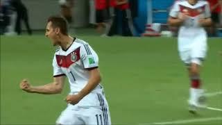 【サッカー】ドイツの誇るレジェンド!ワールドカップの舞台にヘディングだけでハットトリックを達成した男!【ミロスラフ・クローゼ】Miroslav Klose Best Skills