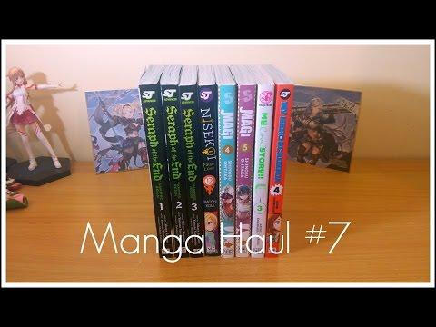 Manga Haul #7 (Seraph of the End, Nisekoi and more)